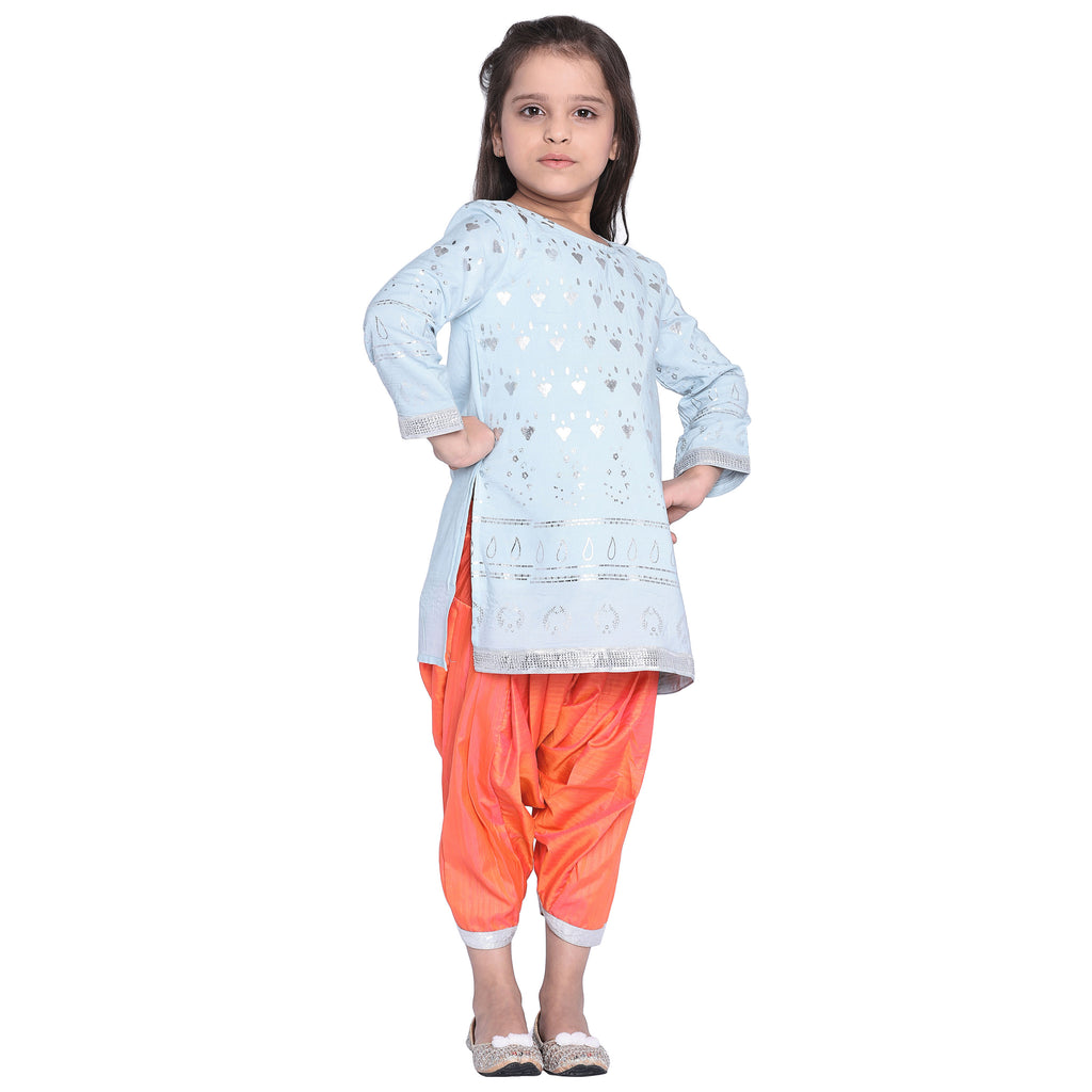 Rikki Designer Kurti Set for Kid Girls age 2-12 years