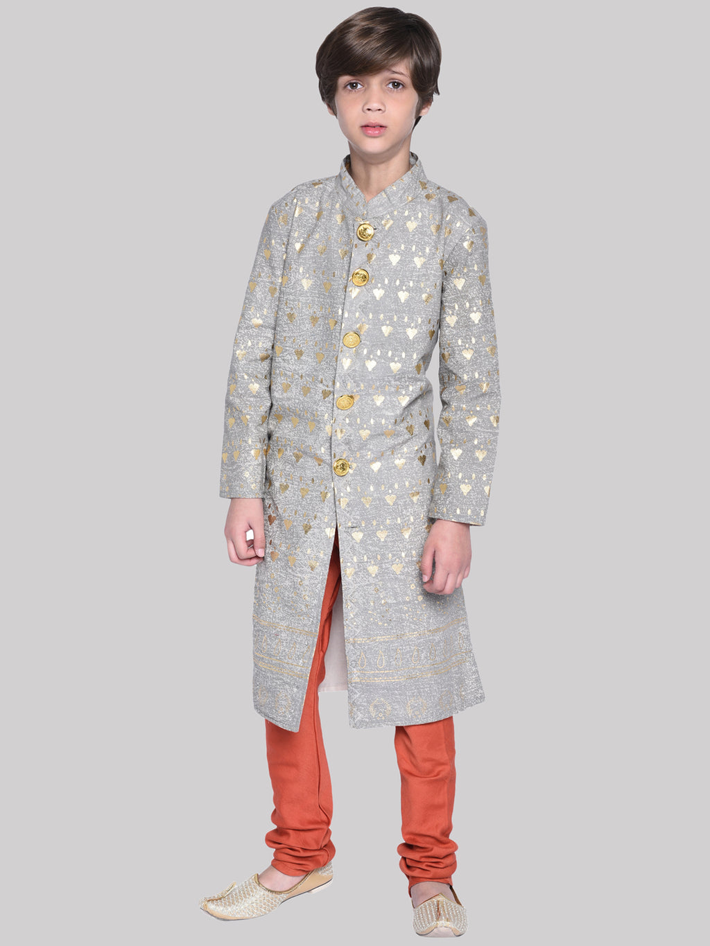 Svein Sherwani & Pyjama Set For Boys