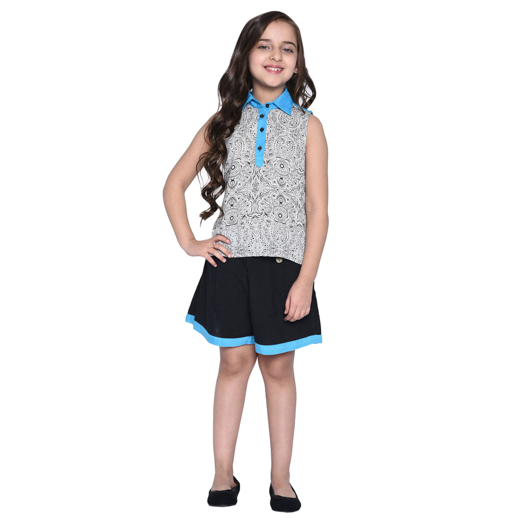 Tereza Shirt & Short for Kid Girls age 2-12 years