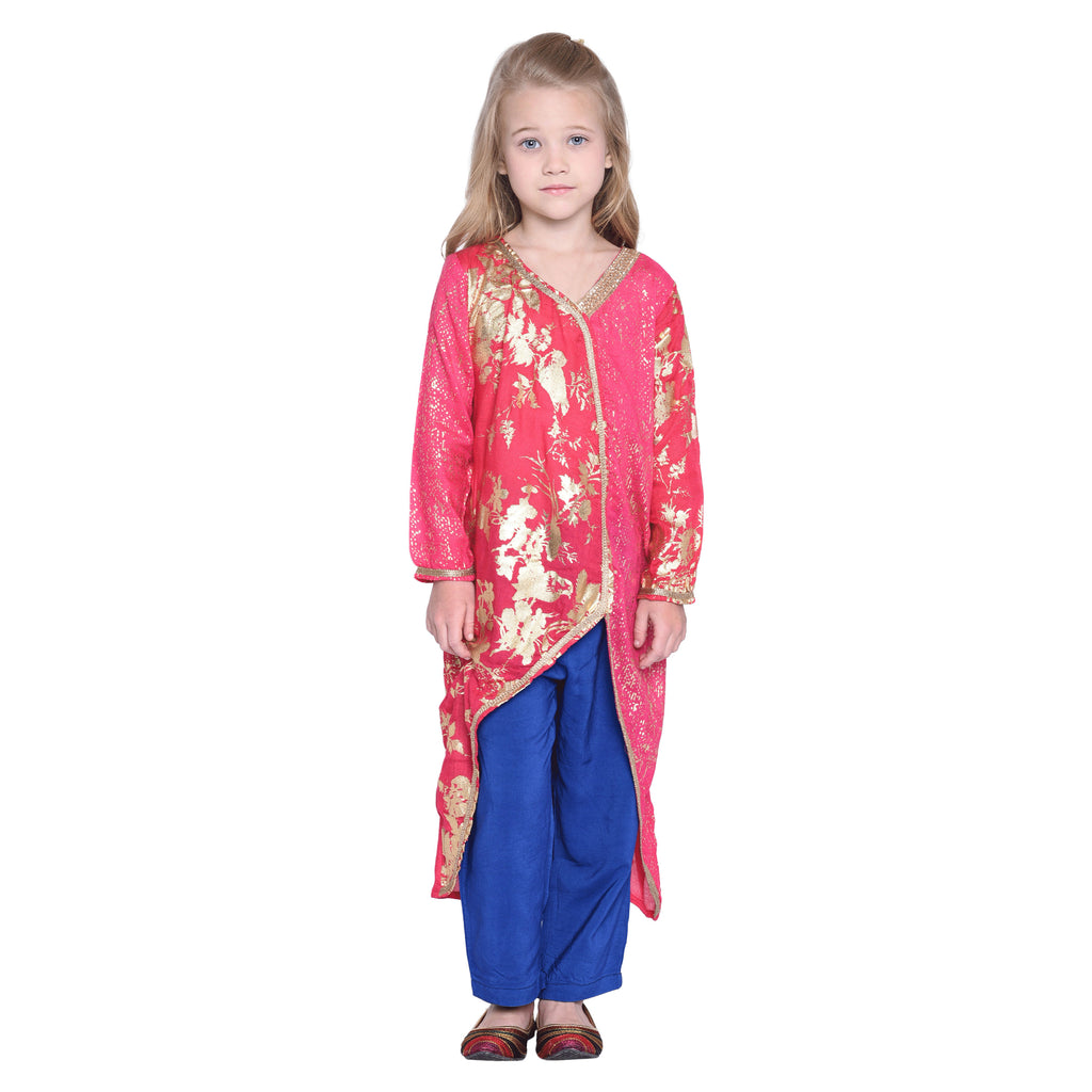Trisha Ethnic Set for kid Girls age 2-12 years