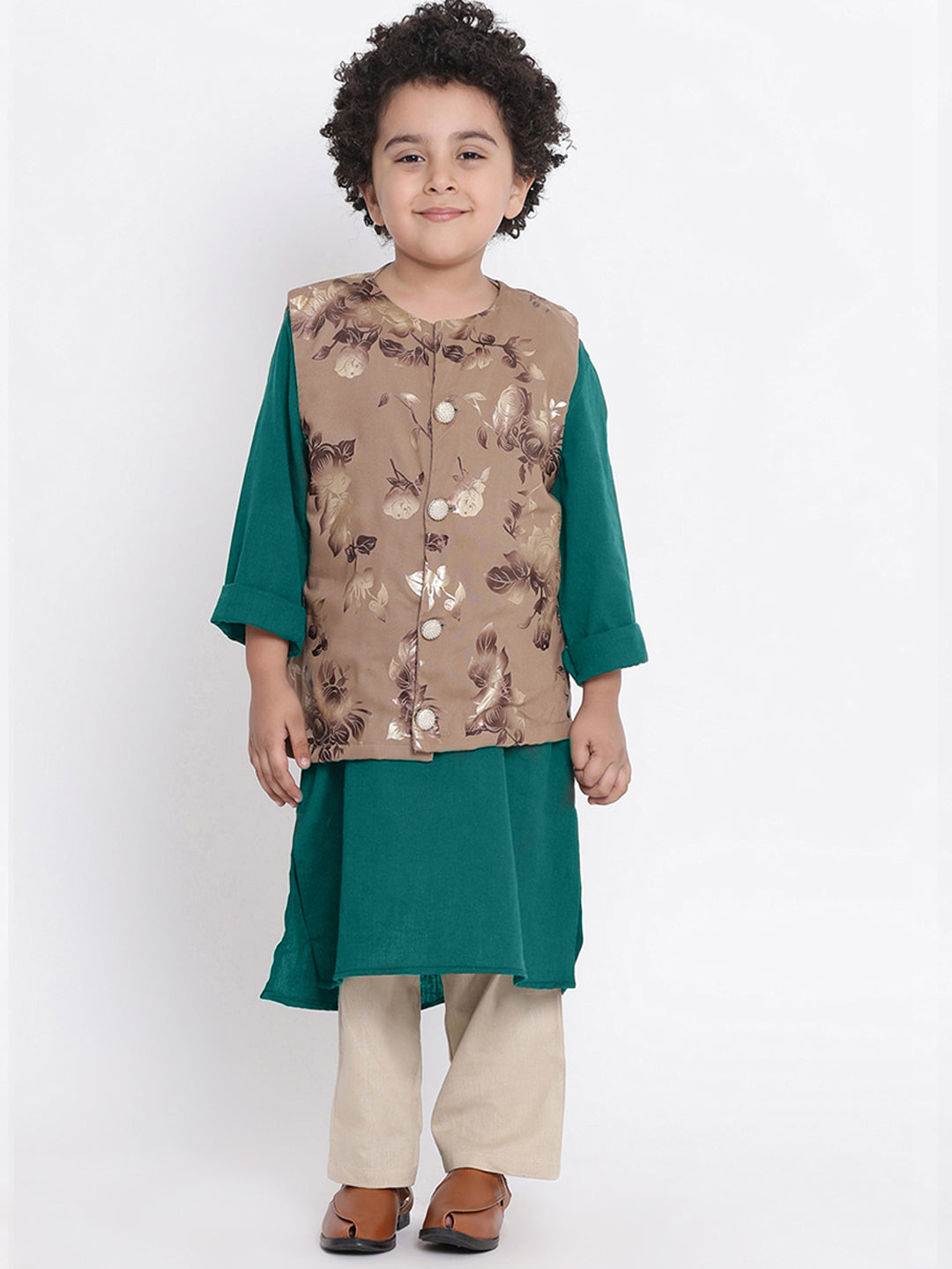 Zayn 2 Kurta Pajama Set For Boys