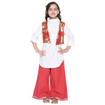Isabella Kurta Palazzo Set For Girls