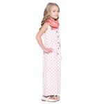 Lola2 Peach Jumpsuits for Girls