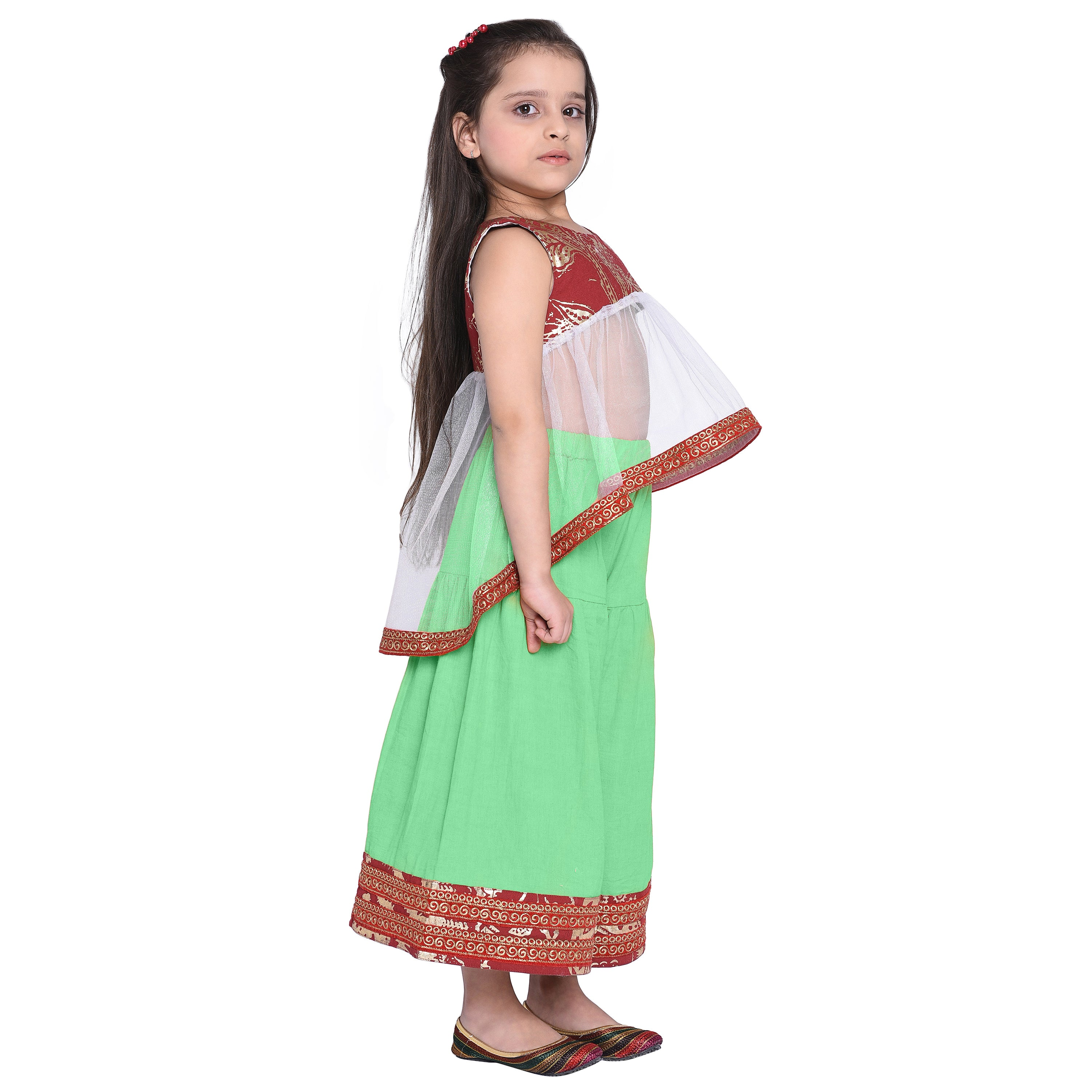 Kurti and Palazzo Set for Girls