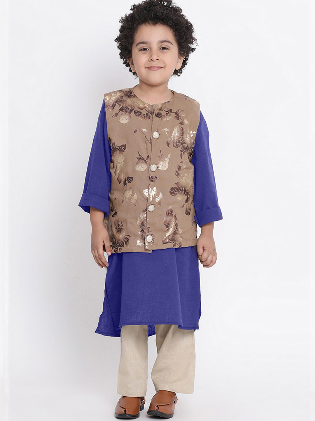 Zayn 3 Kurta Pajama Set For Boys