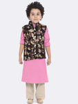 Agastya Pink Kurta Pajama Set For Boys