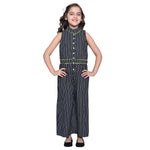 Lola3 Black Jumpsuit For Girls