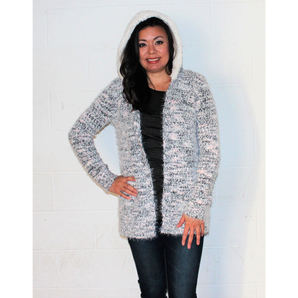 Absoultely Famous Hooded Cardigan