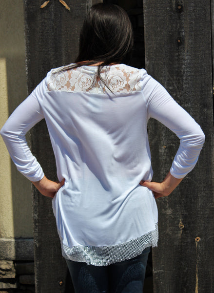 Cupio 3/4 Sleeve Top