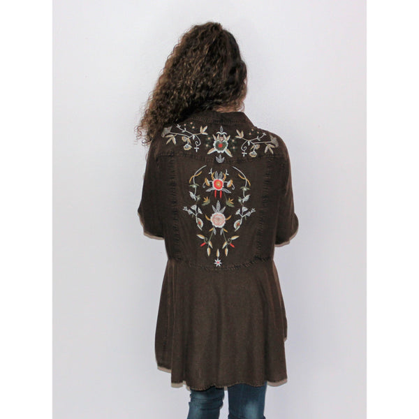 Embroidered Dream Top