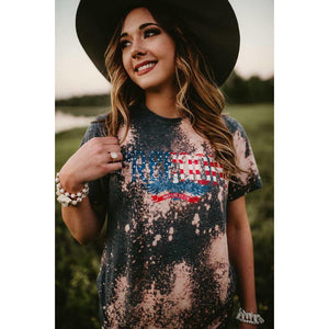 Freedom Bleached T-Shirt
