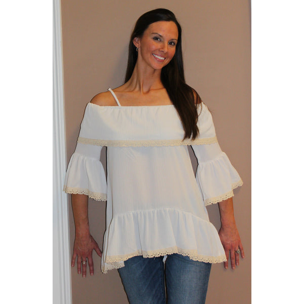 Emma G Off Shoulder Top
