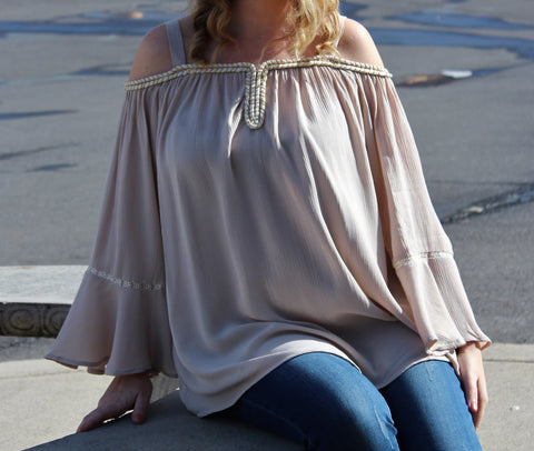 Melissa Paige Off-Shoulder Top