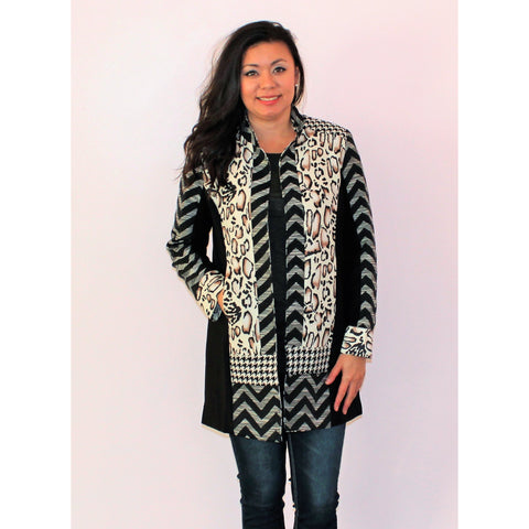 My Wildside Print Jacket