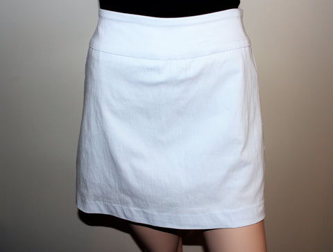 Zac & Rachel Skort-Optic White