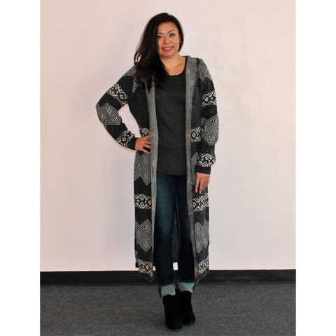 Sioni Hooded Duster