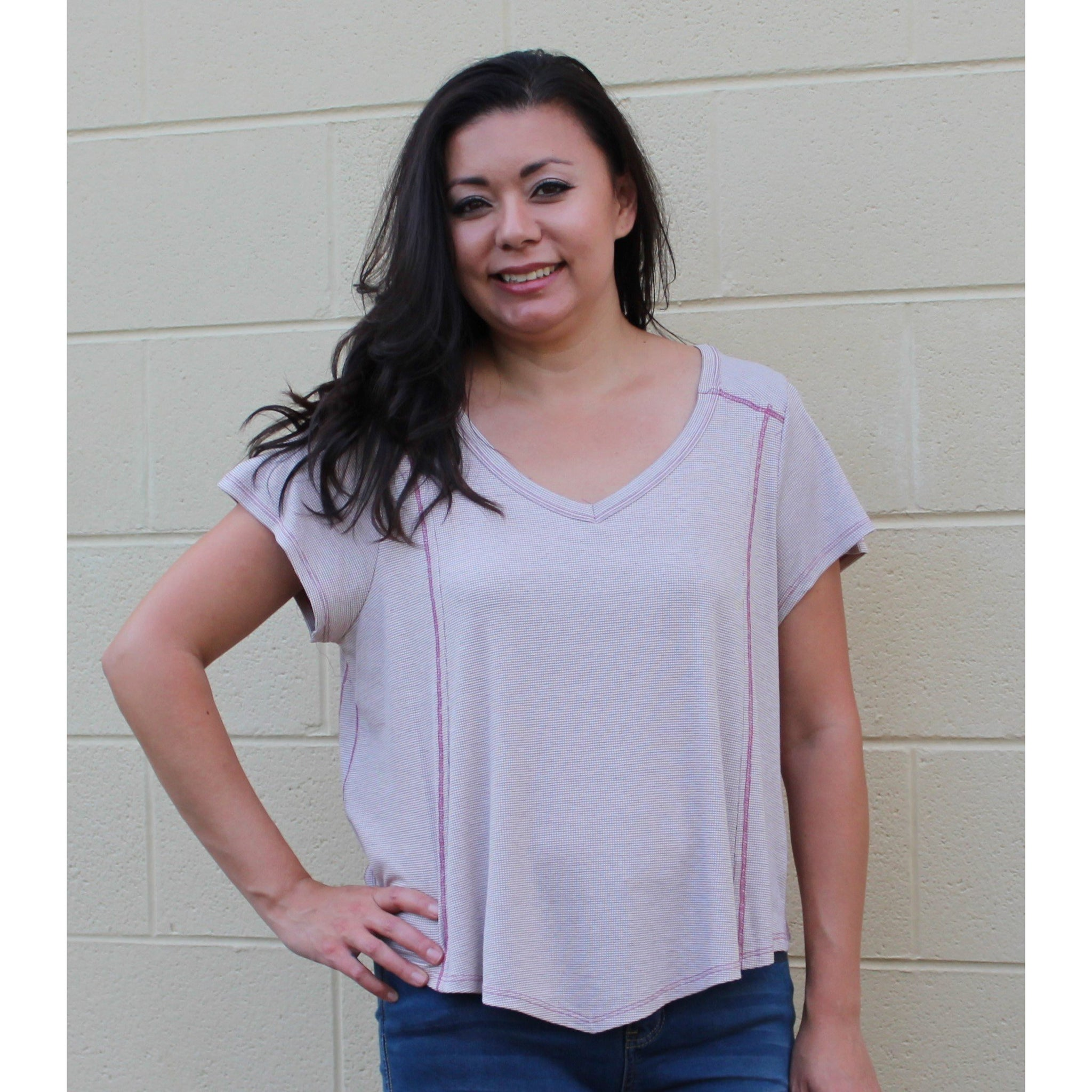 Papermoon V-Neck Top