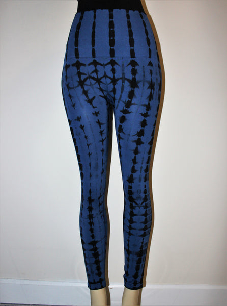 Yelete Navy Blue Leggings
