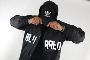 Reflective Rain Jacket (BLACK)