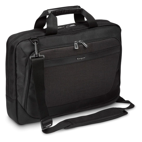 "14-15.6"" CitySmart Slimline Topload Laptop Case - Black/Grey"