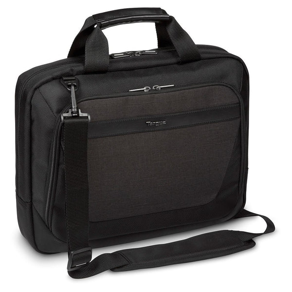 "12-14"" CitySmart Slimline Topload Laptop Case - Black/Grey"