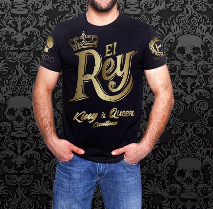 """El Rey"" – Gold with Black Shirt"