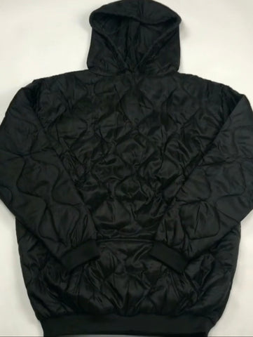 Solid Black Woobie Hoodies