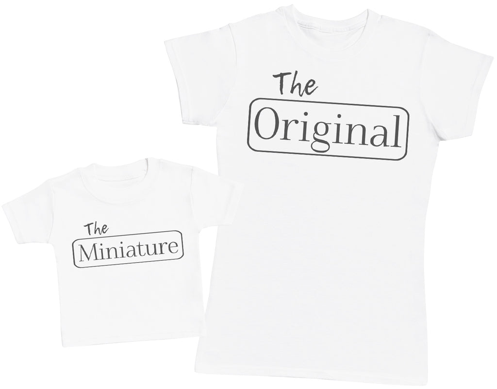 The Original, The Miniature - Womens T-Shirt and Baby T-Shirt