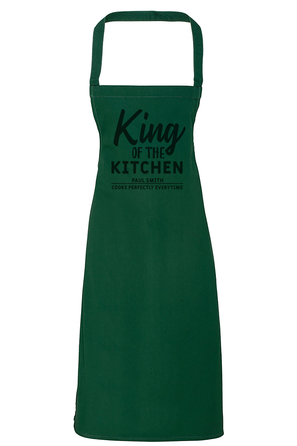 King of the Kitchen - Adult Apron