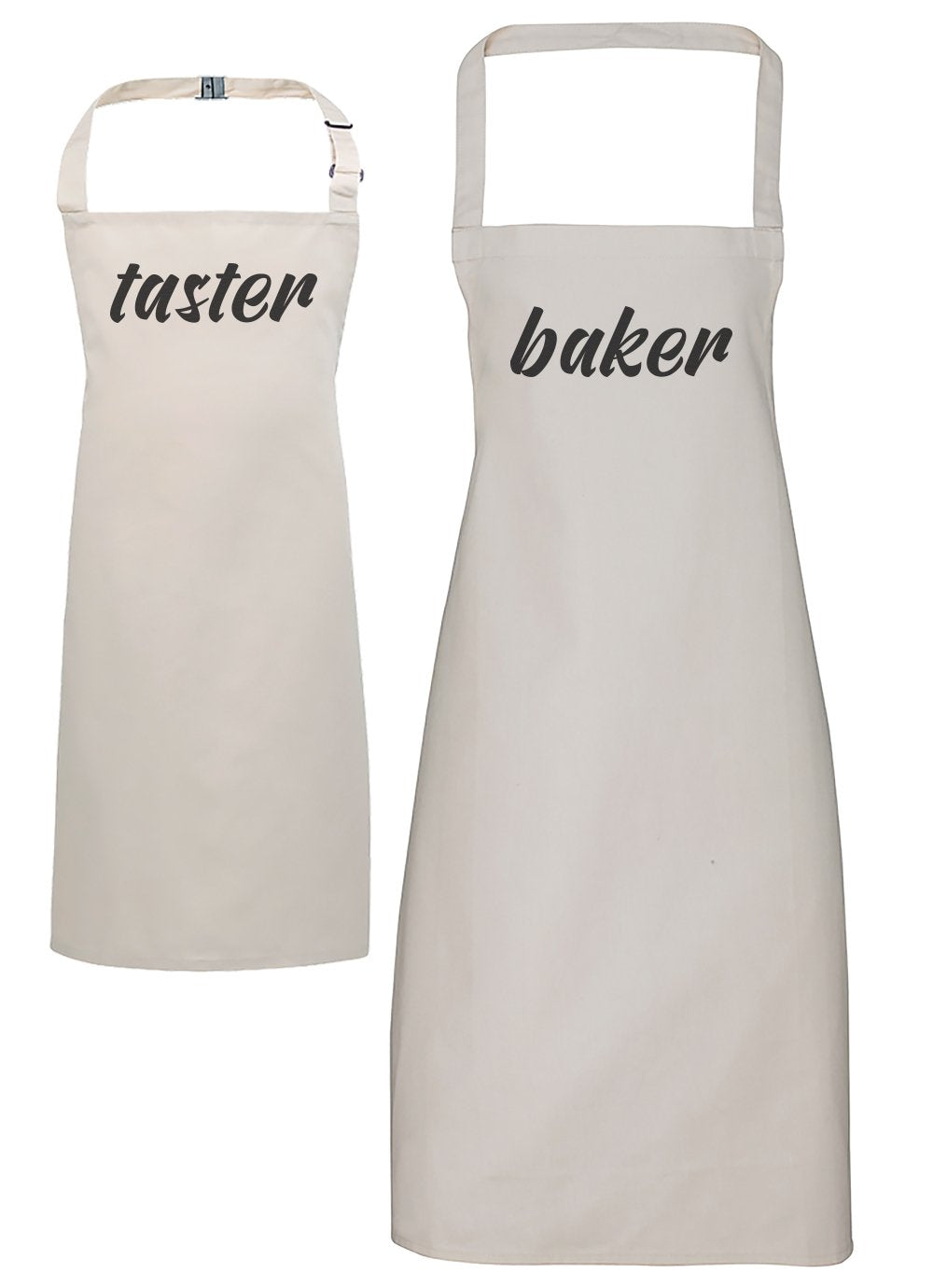 Baker & Taster - Adults & Kids Apron Set