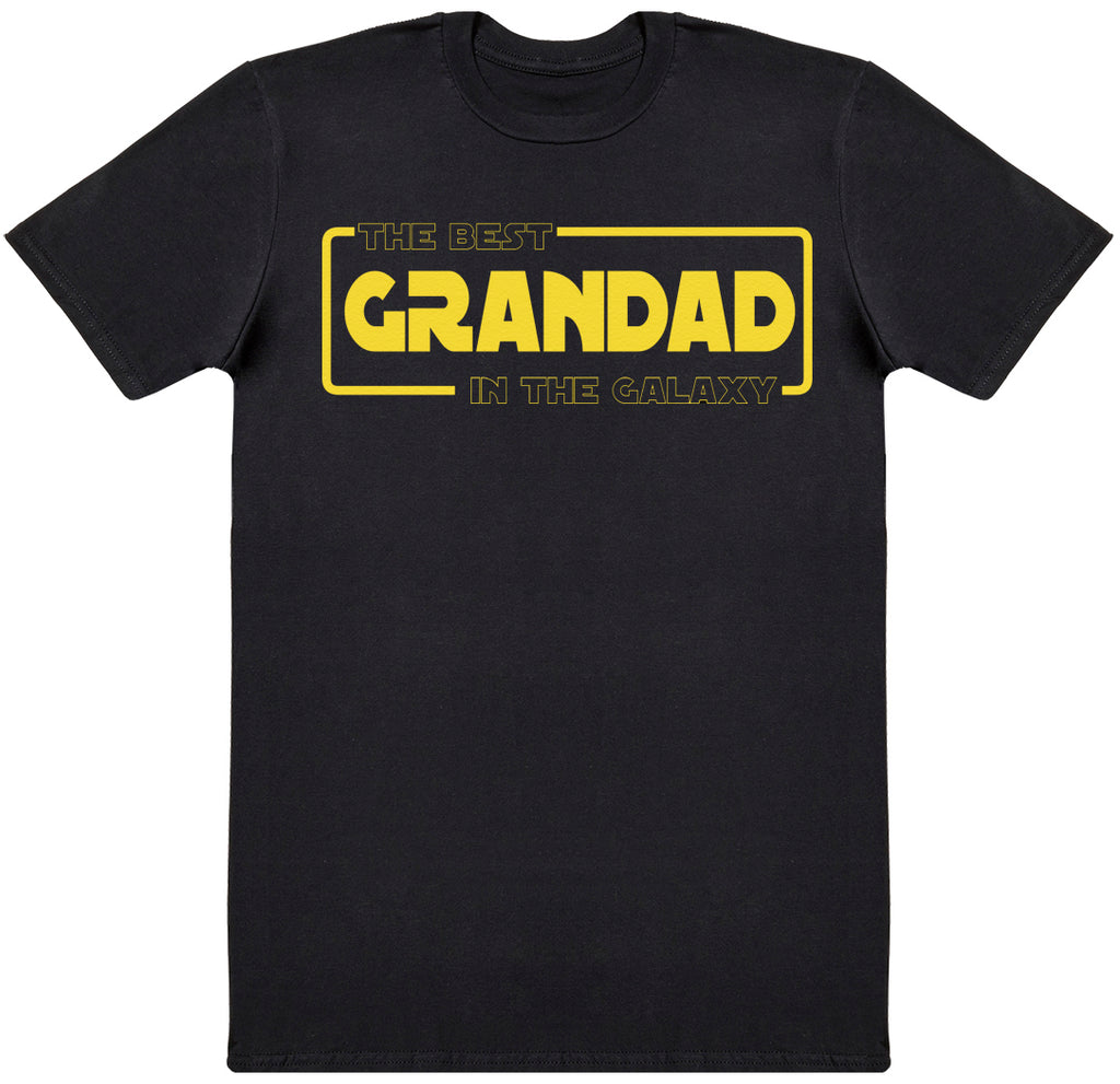 Best Grandad In The Galaxy - Dads T-Shirt