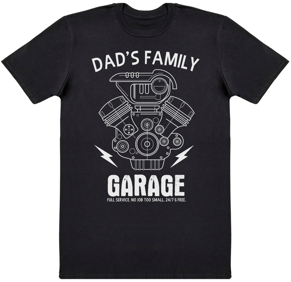 Dad's Family Garage - Dads T-Shirt
