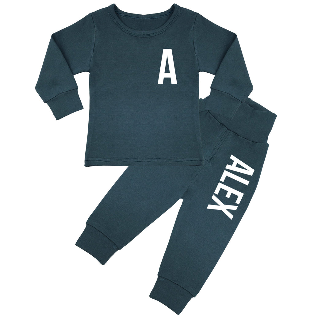 Ohio Personalised Initial & Name Lounge Suit