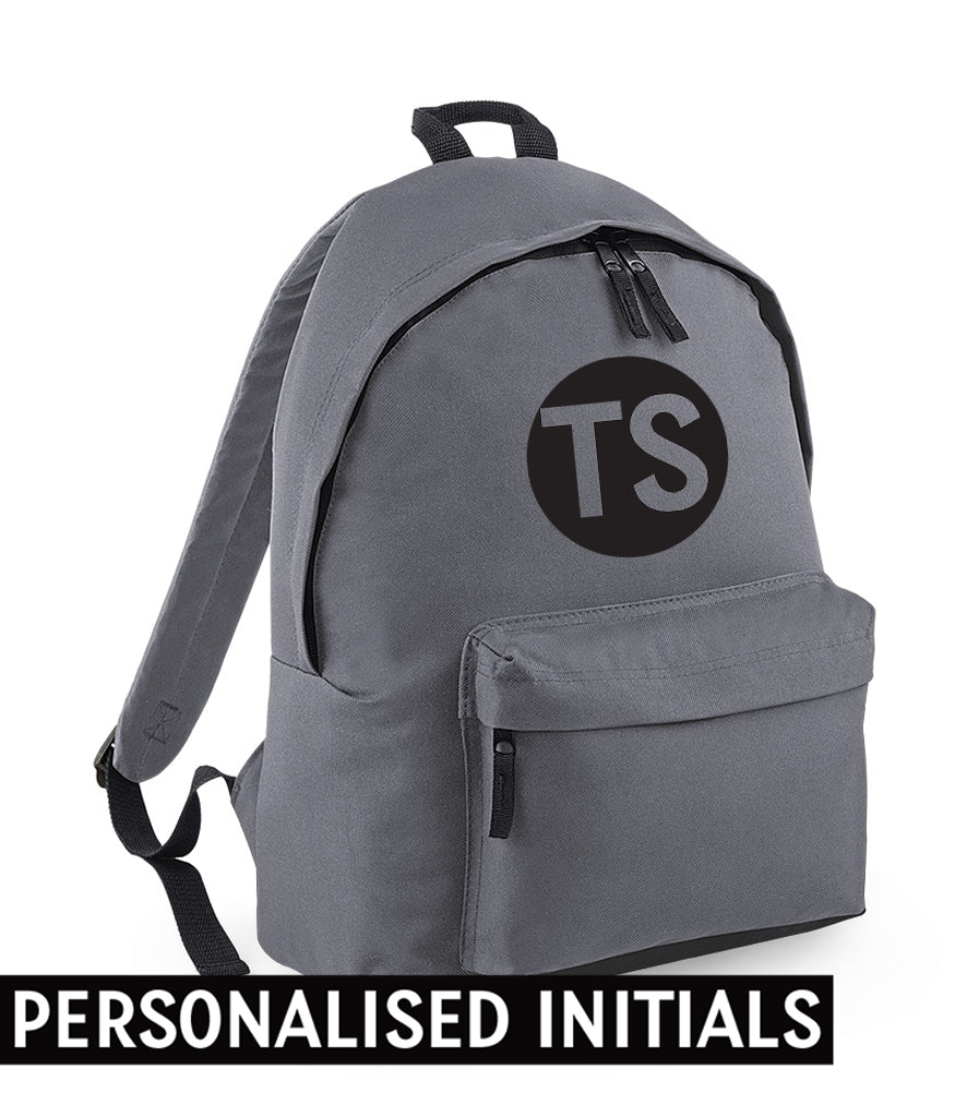 PERSONALISED Initials - Fashion Backpack