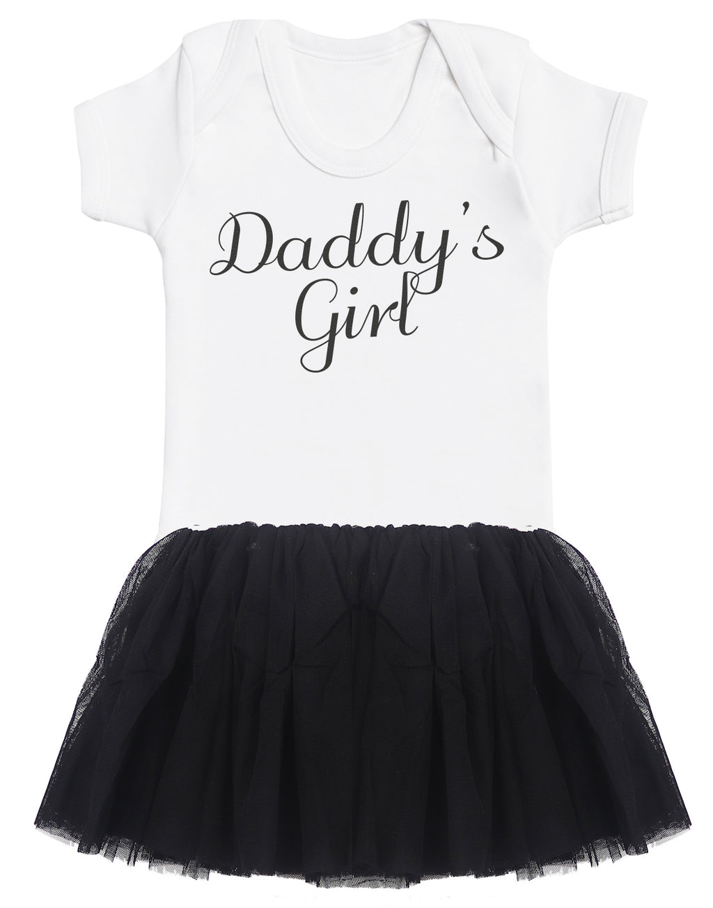 Daddy's Girl Bodysuit and Black Tutu Set