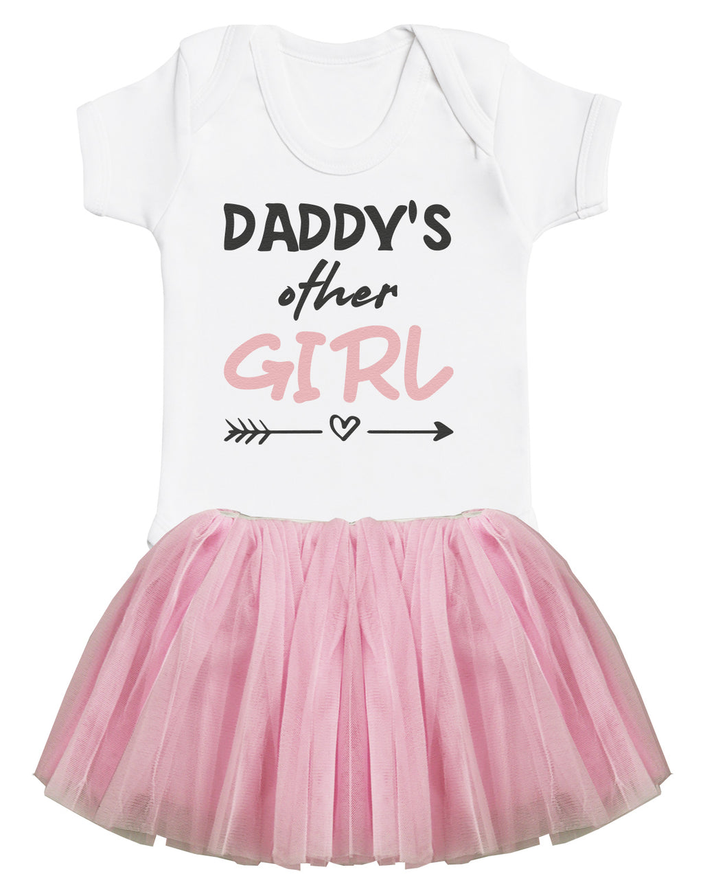 Daddy's Other Girl Bodysuit and Pink Tutu Set