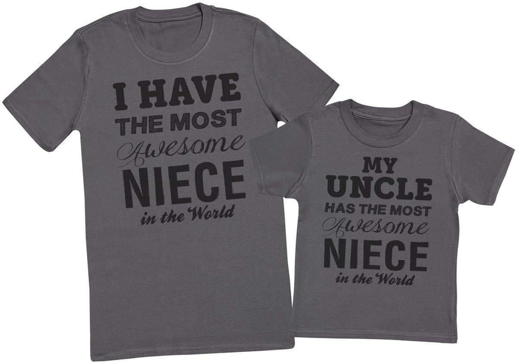 Awesome Niece - Uncle T - Shirt & Kids T - Shirt - The Gift Project