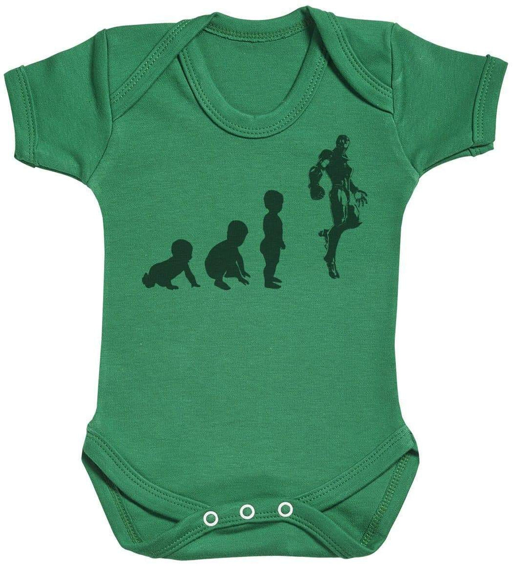 Baby Evolution To A Iron Man - Baby Bodysuit - The Gift Project