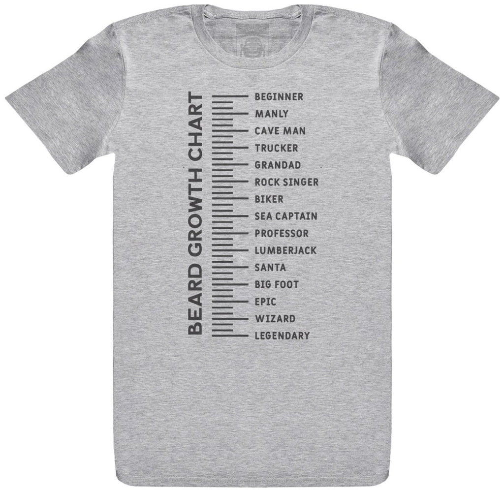 Beard Measure - Mens T-Shirt - The Gift Project