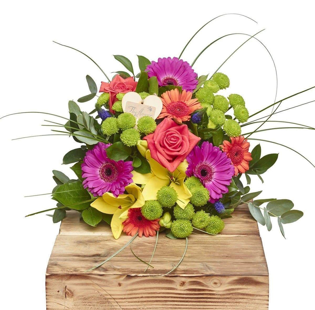 Beautiful Brights Hand Tied Bouquets - The Gift Project