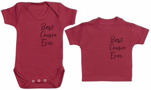 Best Cousins Ever - Matching Kids Set - Bodysuits & T-Shirts - Gift Set - The Gift Project