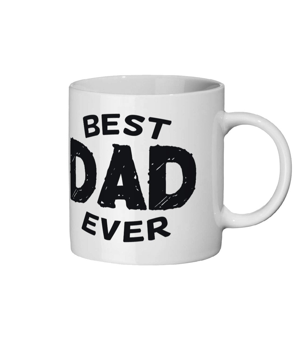 Best Dad Ever Ceramic Mug 11oz - The Gift Project
