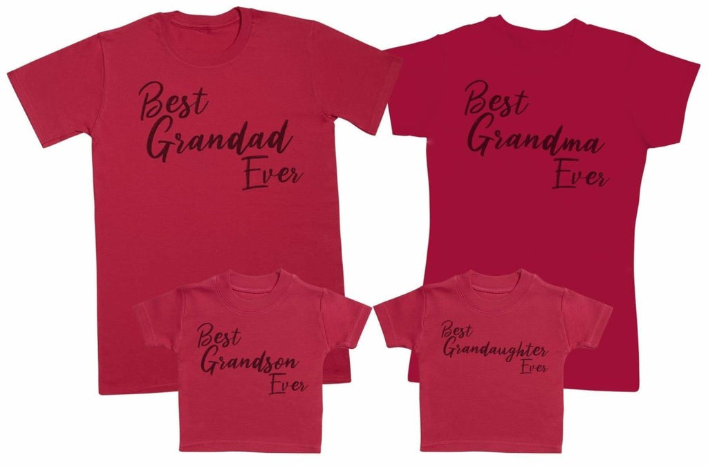 Best Grandparents & Best Grandchildren Ever - Matching Set - Baby / Kids T-Shirt, Mum & Dad T-Shirt - The Gift Project