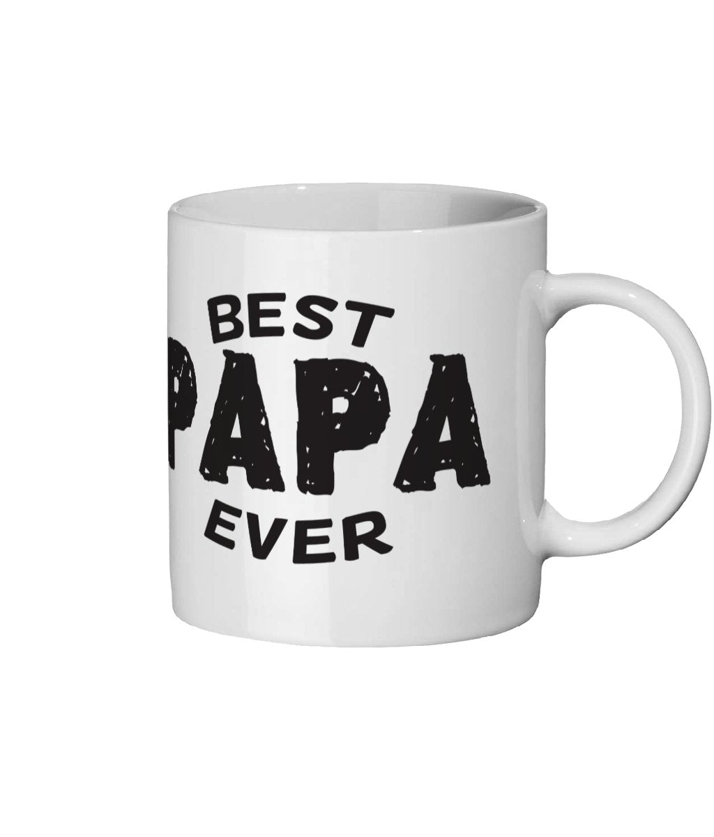 Best Papa Ever Ceramic Mug 11oz - The Gift Project