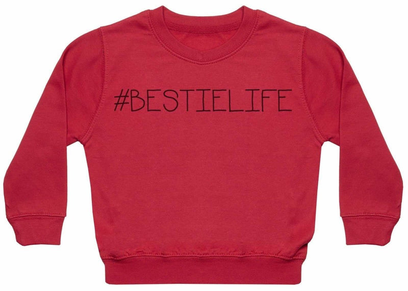 #Bestie Life - Matching Kids Set - Baby / Kids Sweaters - Gift Set - The Gift Project