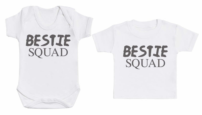 Bestie Squad - Matching Kids Set - Bodysuits & T-Shirts - Gift Set - The Gift Project