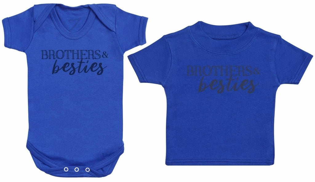 Brothers & Besties - Matching Kids Set - Bodysuits & T-Shirts - Gift Set - The Gift Project