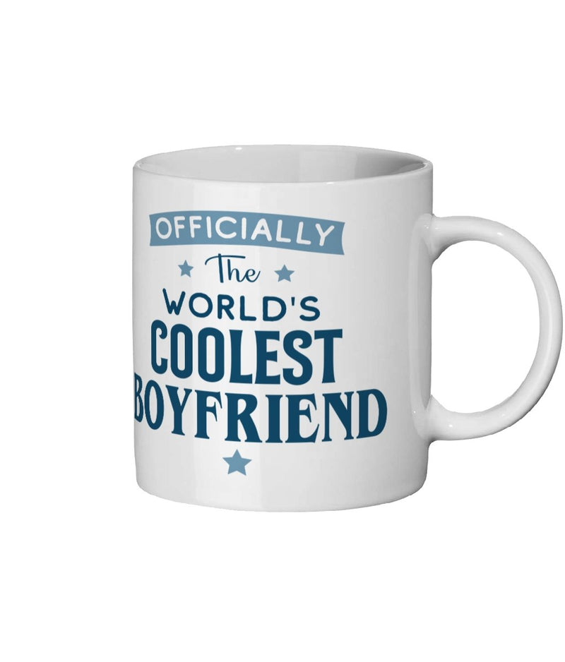 Coolest Boyfriend Ceramic Mug 11oz - The Gift Project