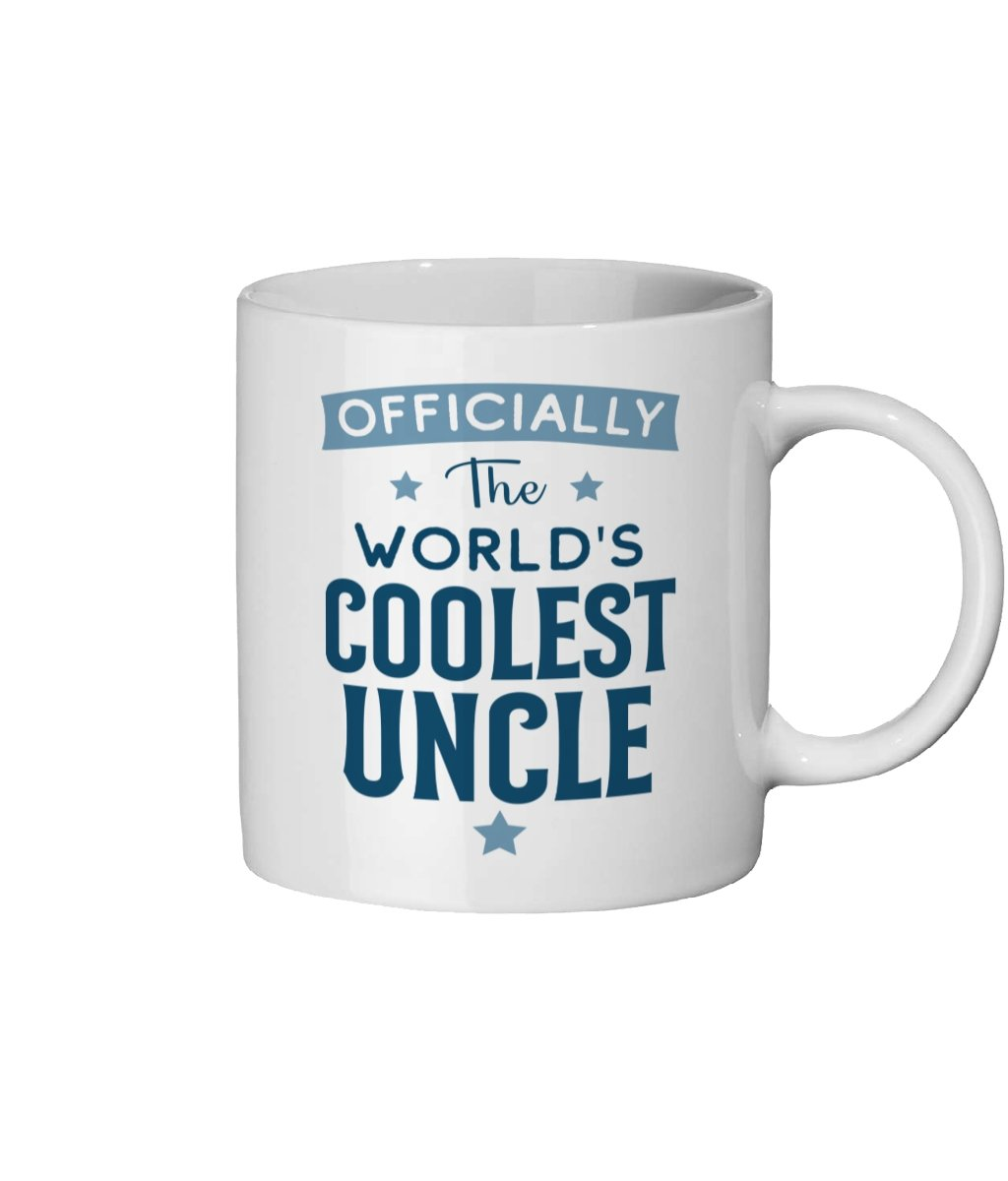 Coolest Uncle Ceramic Mug 11oz - The Gift Project