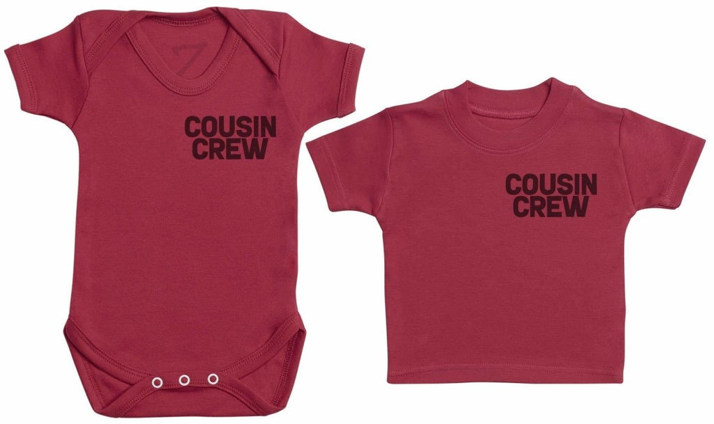 Cousin Crew - Matching Kids Set - Bodysuits & T-Shirts - Gift Set - The Gift Project
